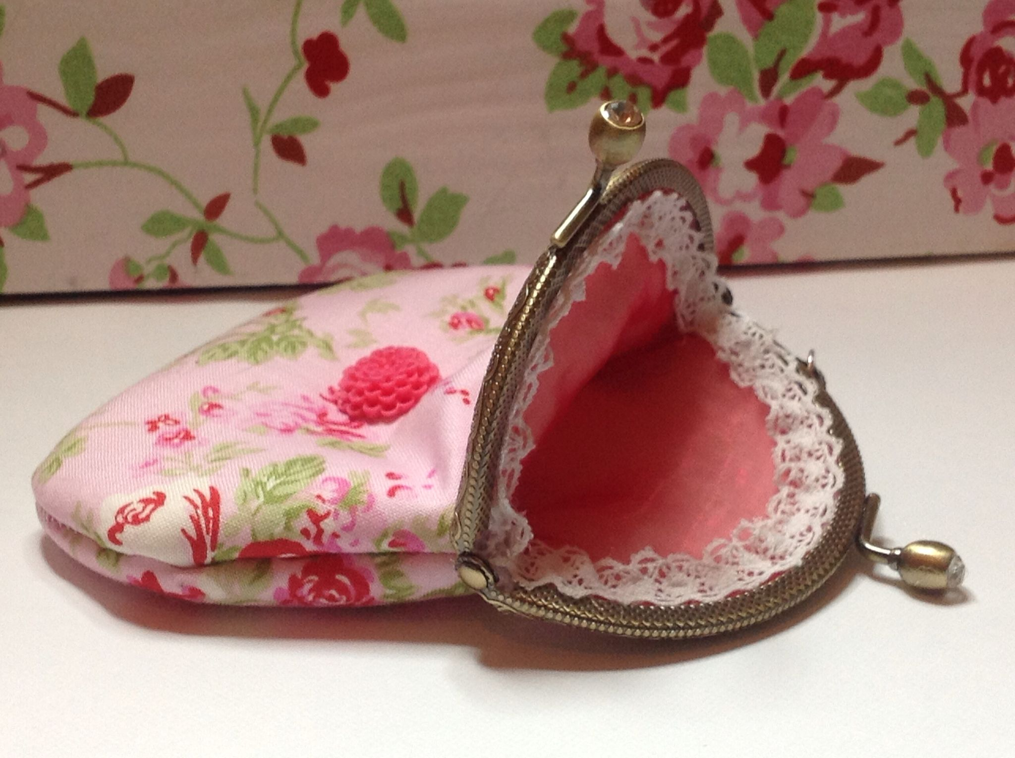 Lined purse