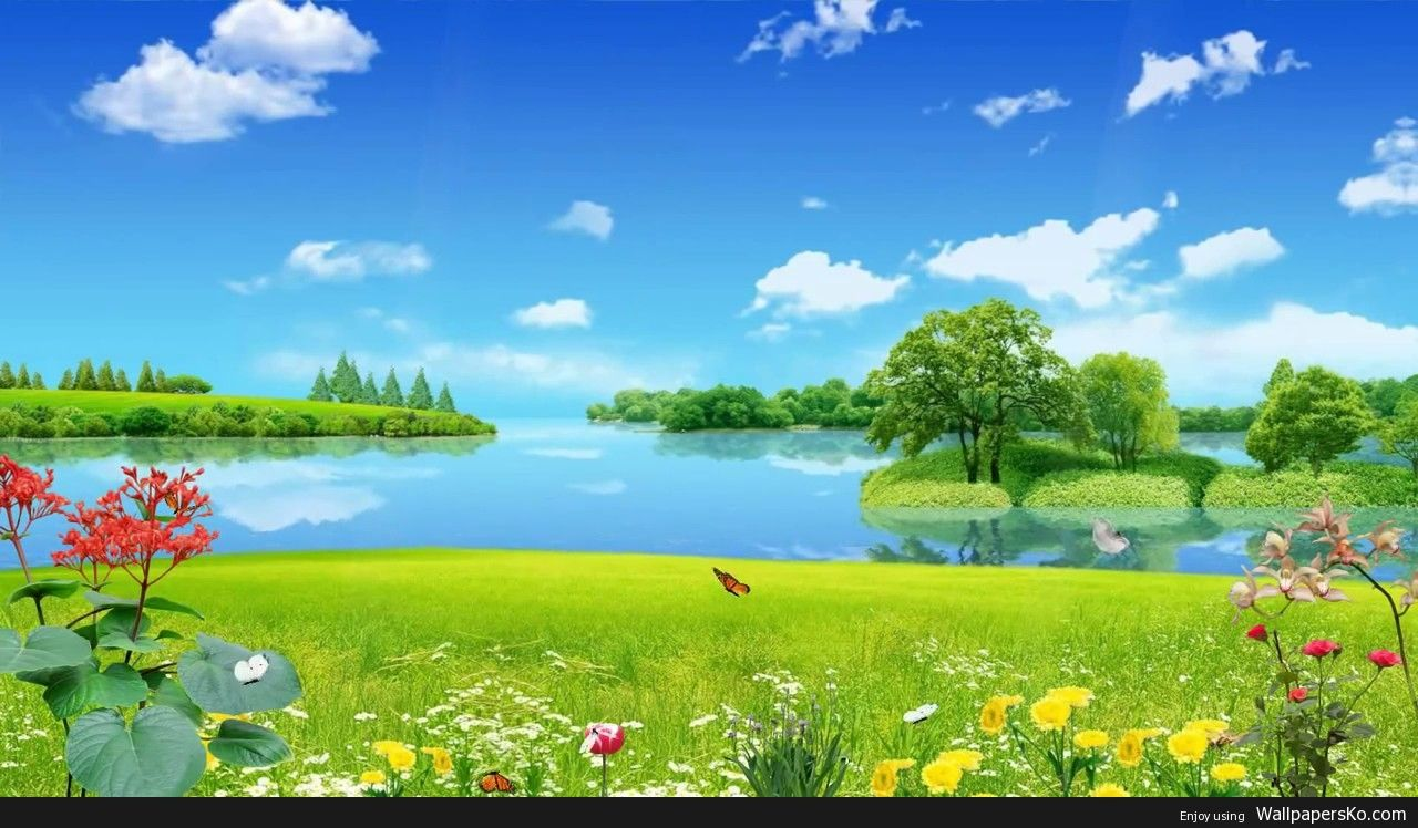 Animated Scenery Background Http Wallpapersko Com Animated Scenery Background Html Hd Wallpap Scenery Background Beautiful Nature Nature Background Images