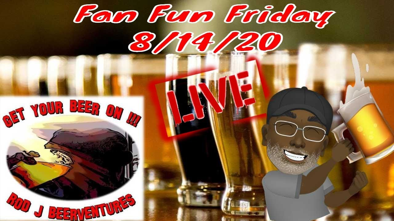 Fan Fun Friday Live Stream In 2020 Boston Beer Beer White Ale