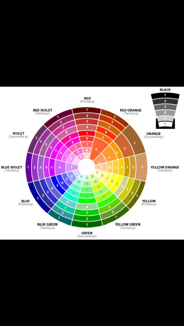 Wella colour wheel also color products  services pinterest rh