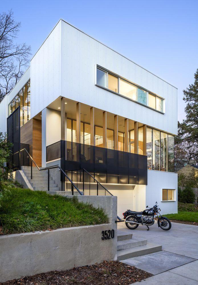 Gallery of stack house lazor office exteriordesignapartment also rh pinterest