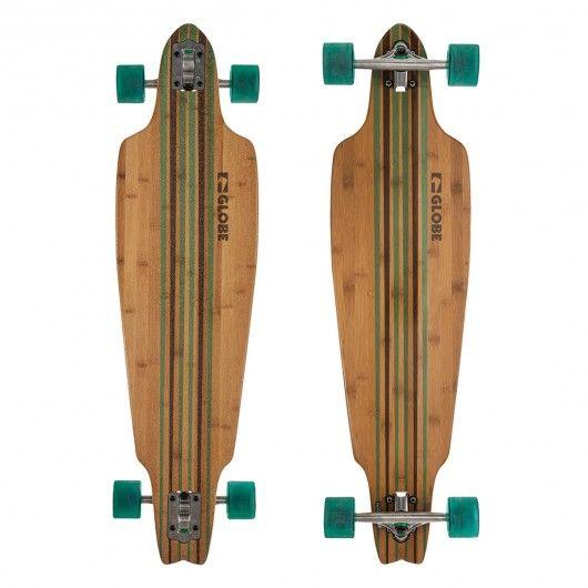 #longboard #longskate #globe #longskateboard #longboards #longskateboarding #longskateboards #downhill #carving #carver #cruiser GLOBE Prowler Bamboo clear green longboard en bambou 38 x 10 pouces 174,00 € #skate #skateboard #skateboarding #streetshop #skateshop @playskateshop
