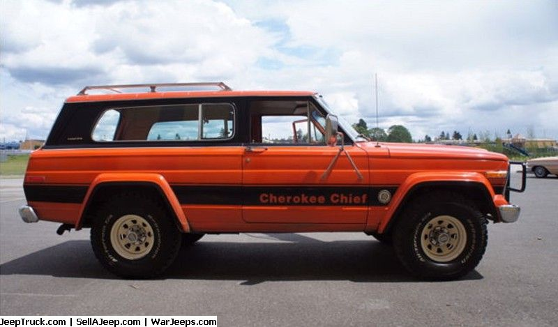 Used Jeeps And Jeep Parts For Sale 79 Jeep Cherokee Chief48k