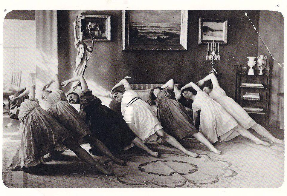 old-fashioned yoga