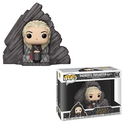 Funko POP! Game of Thrones - Daenerys Targaryen on Dragonstone Throne Vinyl Figure #63 #funkogameofthrones