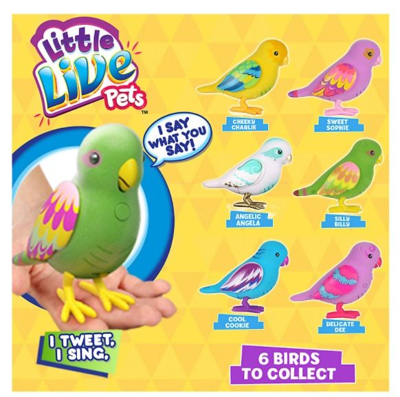 Little Live Pets The Yellow One Obviously Bought Little Live Pets Pet Gift Pet Birds