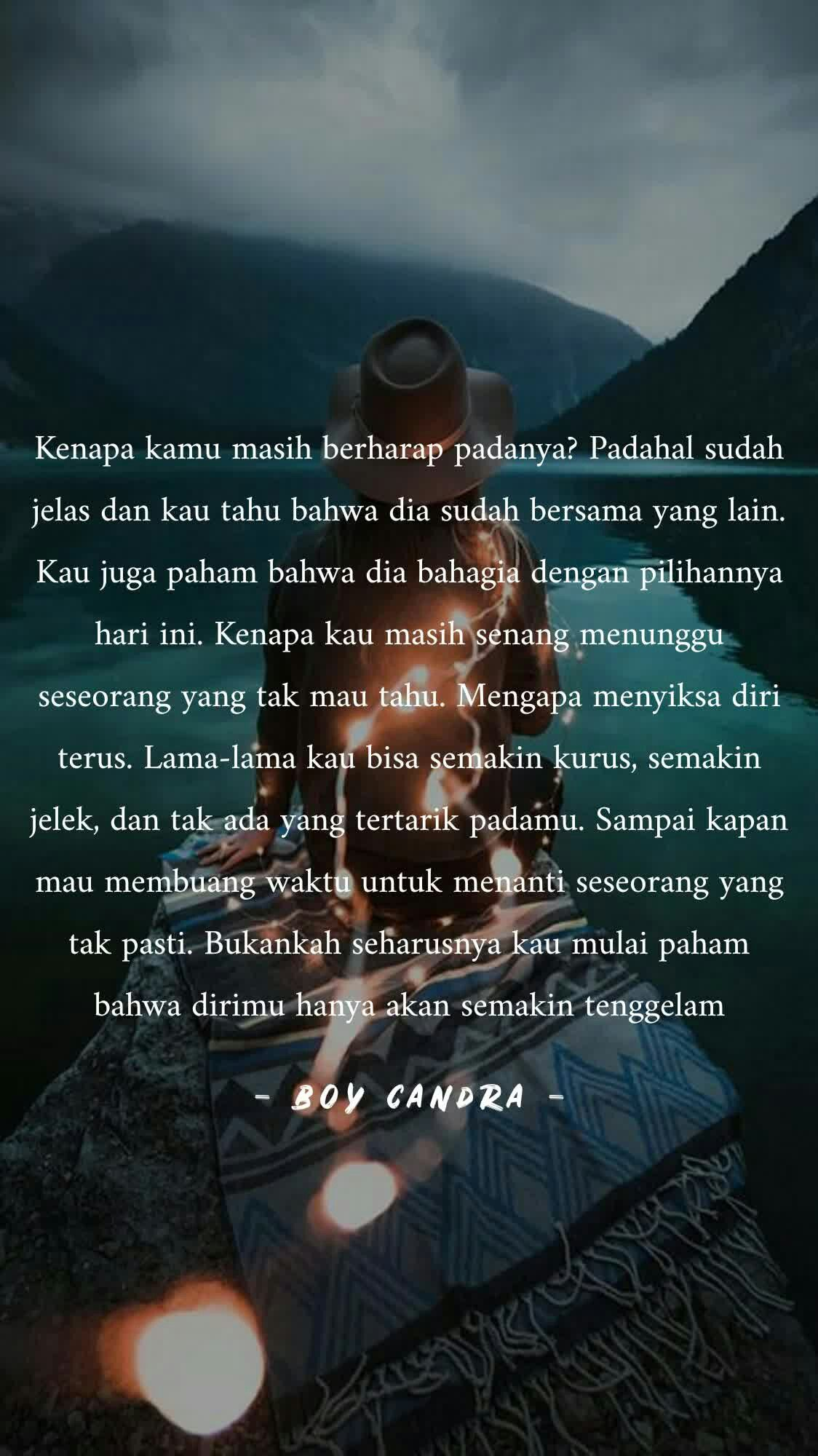 The Boy Candra Quotes Are The Most Complicated Love