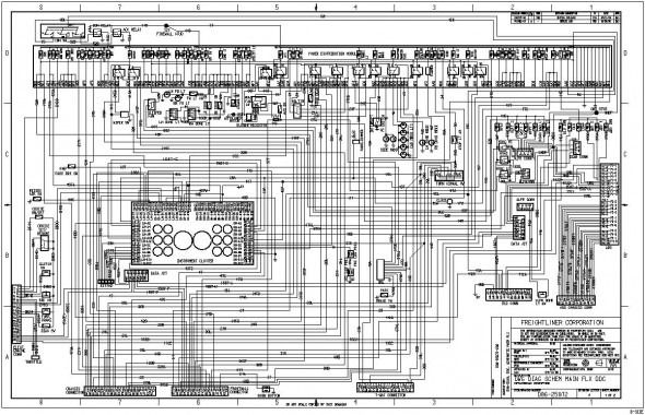 Freightliner Business Class M2 Wiring Diagrams In 2020 Freightliner Peterbilt Diagram