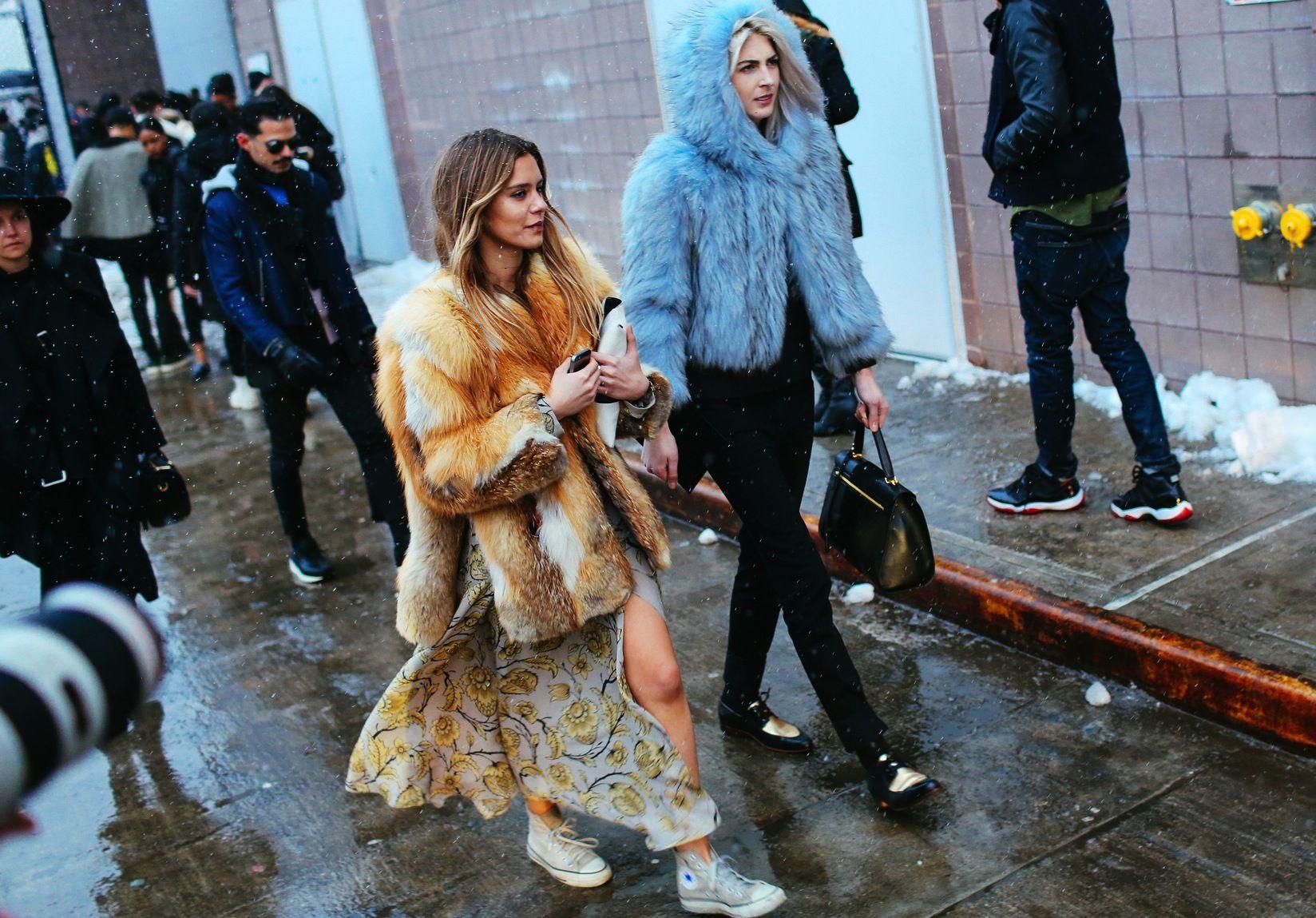 Street Style: New York Fashion Week Fall 2015 Vogue