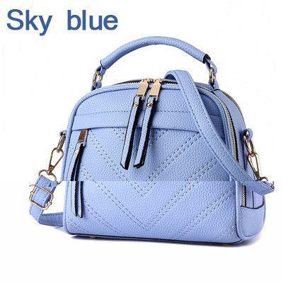 2bcd1c0b2c ZMQN Women Shoulder Bag Candy Colors Fashion Handbags Brand Small Leather  Crossbody Bags For Women Messenger
