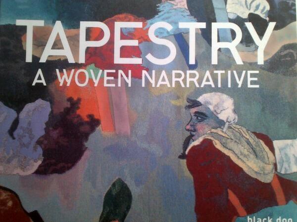 Tapestry book via @Rose Matthews