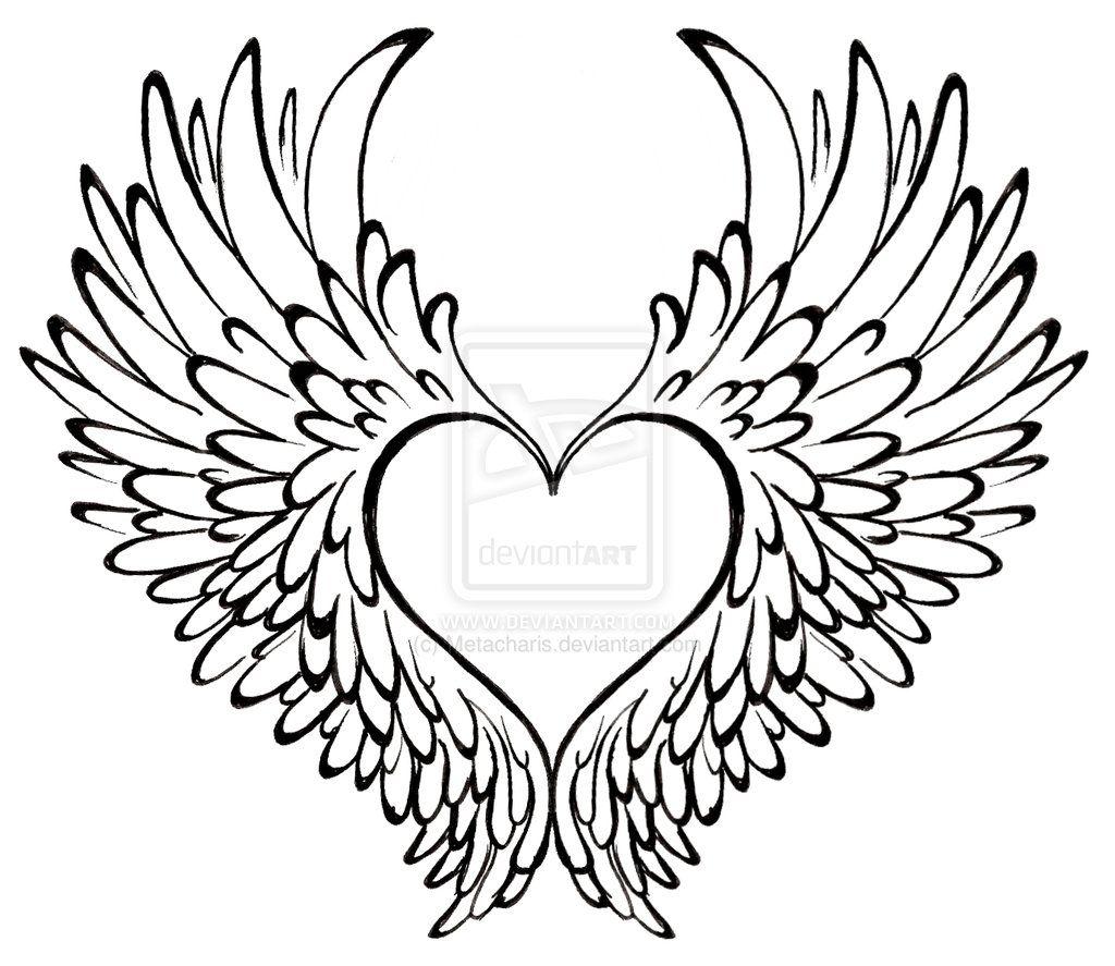 Heart with Wings Tattoo | Tatts | Pinterest | Tatuajes, Alas y Dibujo