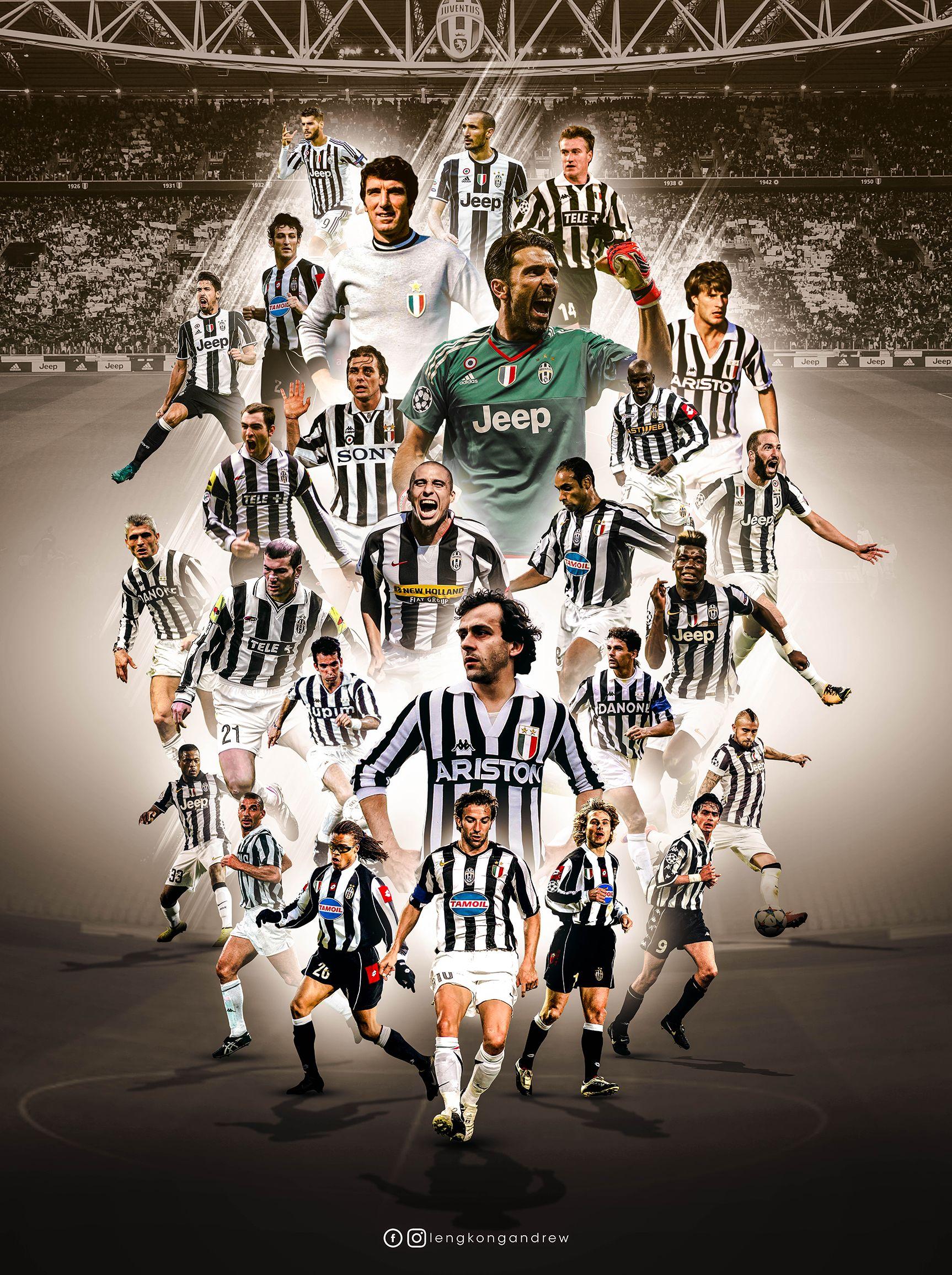 Juventus Legends Sepak Bola Gambar Sepak Bola Gambar