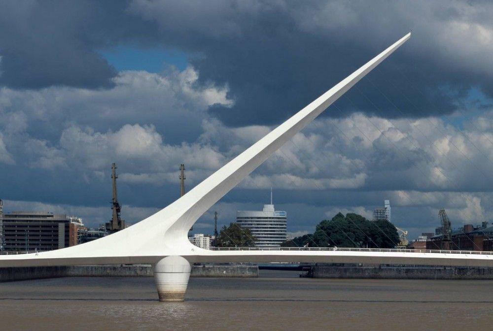 Puente de la Mujer / Santiago Calatrava