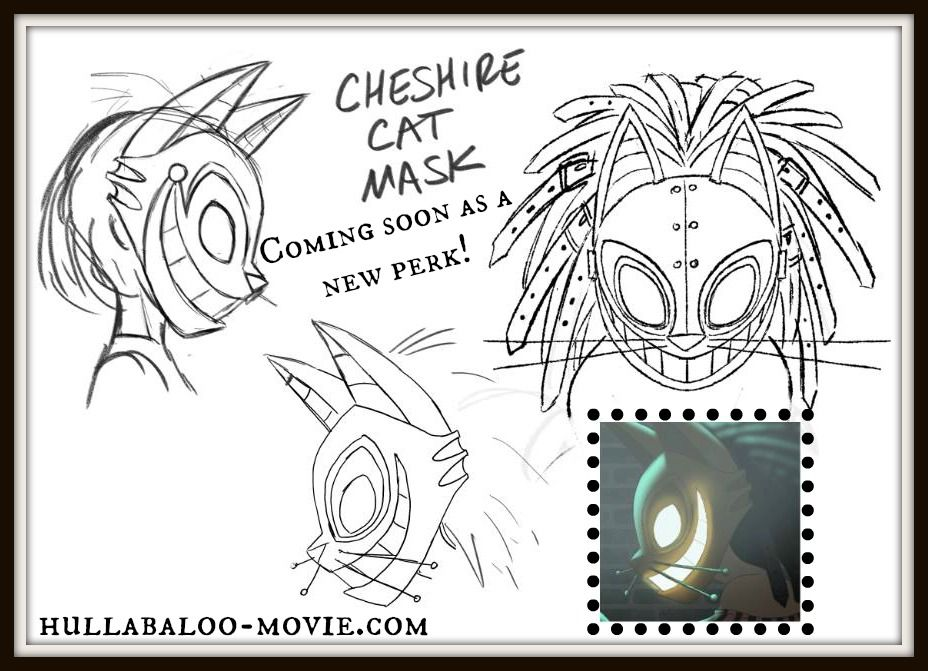 Hullabaloo Cheshire Cat