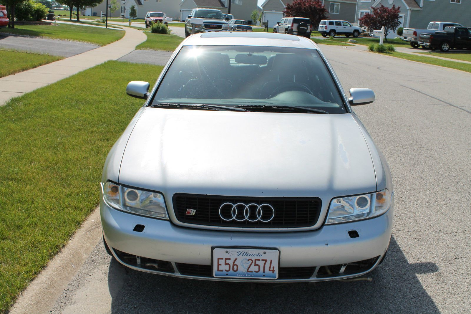 cool Audi: S4 Base Sedan 4-Door 2001 audi s 4 base sedan 4 door 2.7 l automatic sold no reserve