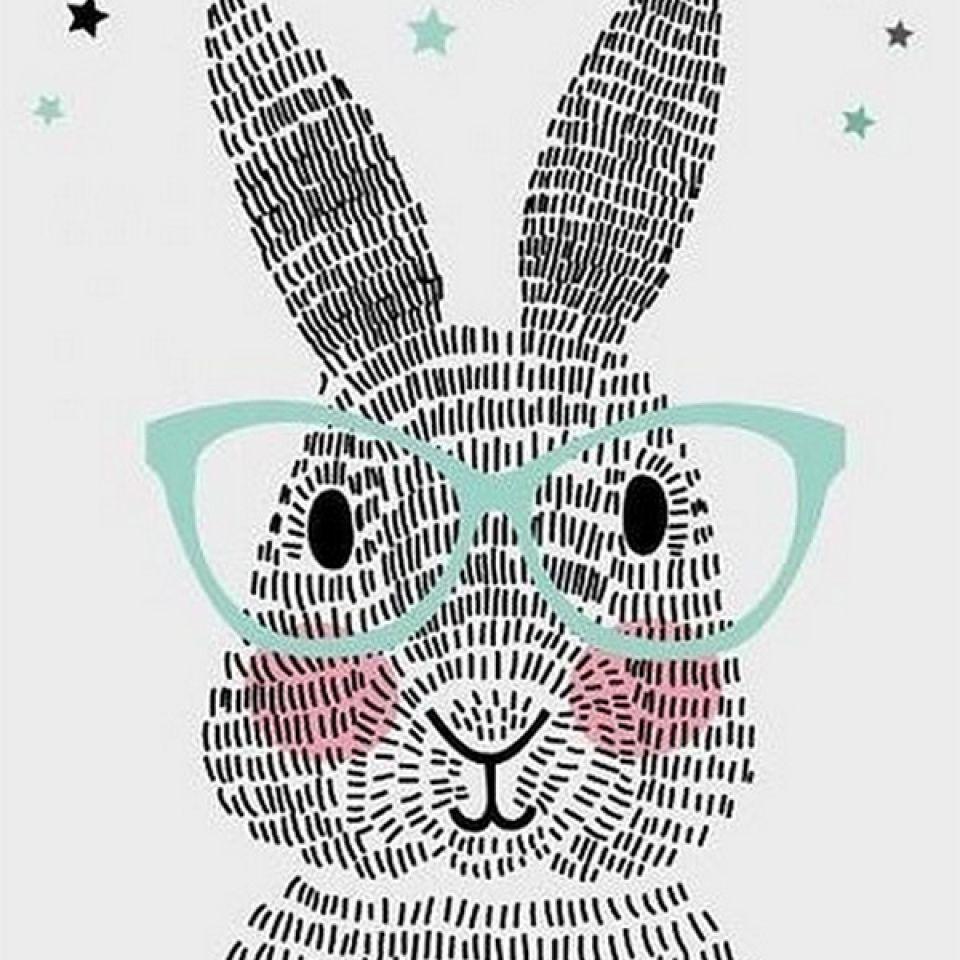 konijnbrilkaartdreumesenzo.jpg 960×960 Pixel Häschen
