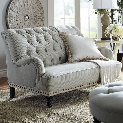 Chas Loveseat   Seersucker | For A Sitting Area In The Master Bedroom?