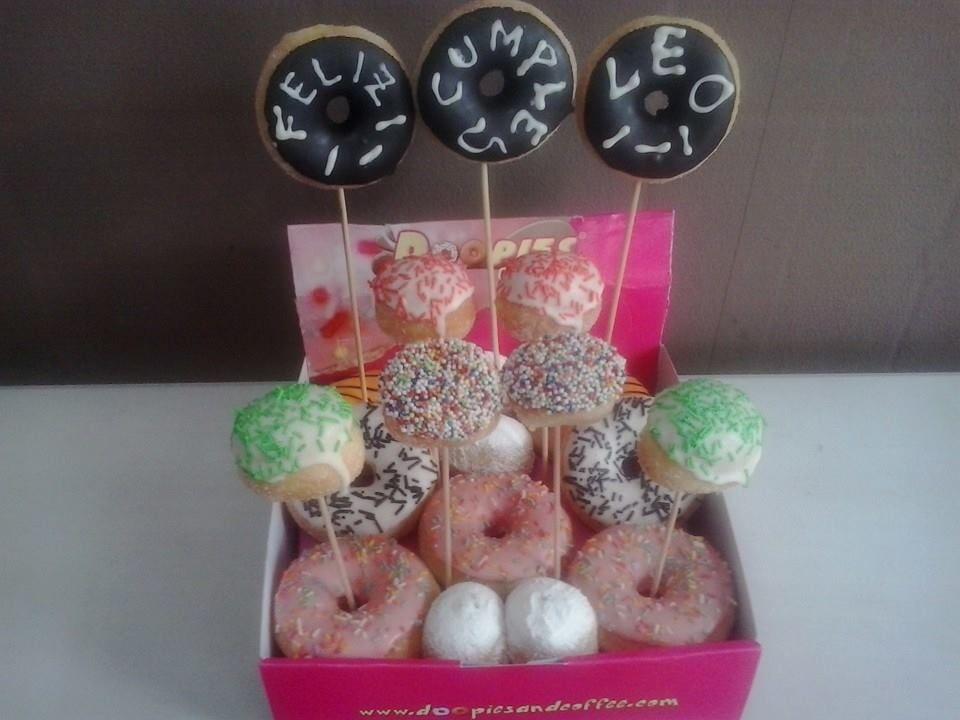 Doopies&Coffee Torrelavega nos envía esta deliciosa #Doopietarta hecha de minidoopies y pops