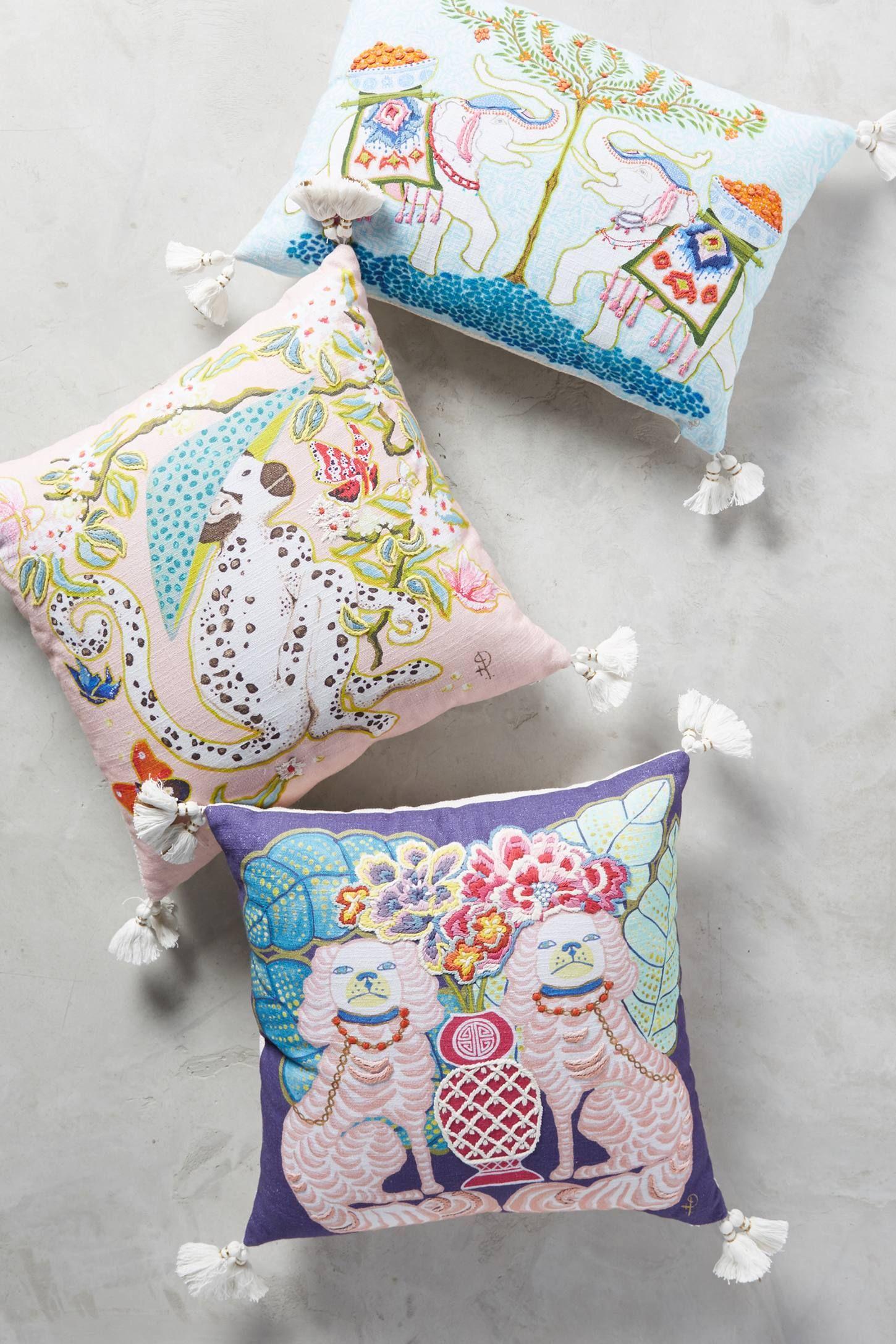 Glam Pad | Needlepoint pillows