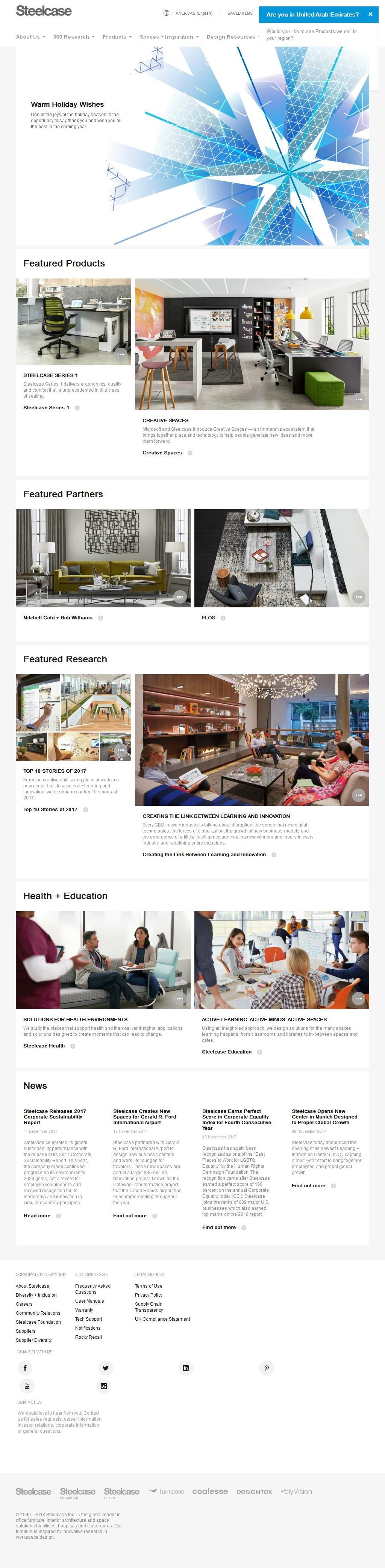 Steelcase Office Furniture Store Design House, 24, Al Soufor Street 1 Floor Al  Sufouh 1   372, Jumeirah, Dubai | Www.HaiUAE.com Is A Complete Travel Guide  ...