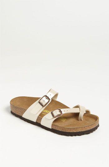 birkenstock 39 mayari 39 birko flor sandal online only chaussures chaussure vetements et. Black Bedroom Furniture Sets. Home Design Ideas