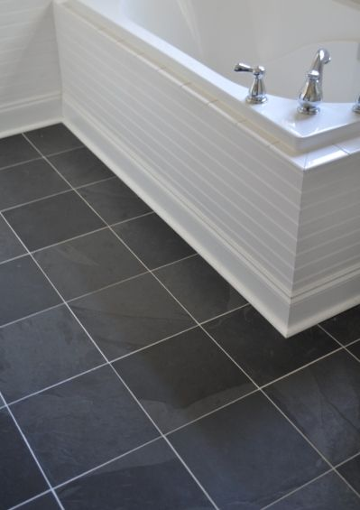 Slate Tile Black Slate Floor Bathrooms Remodel Black Slate Floor Tiles Dark slate bathroom floor slate