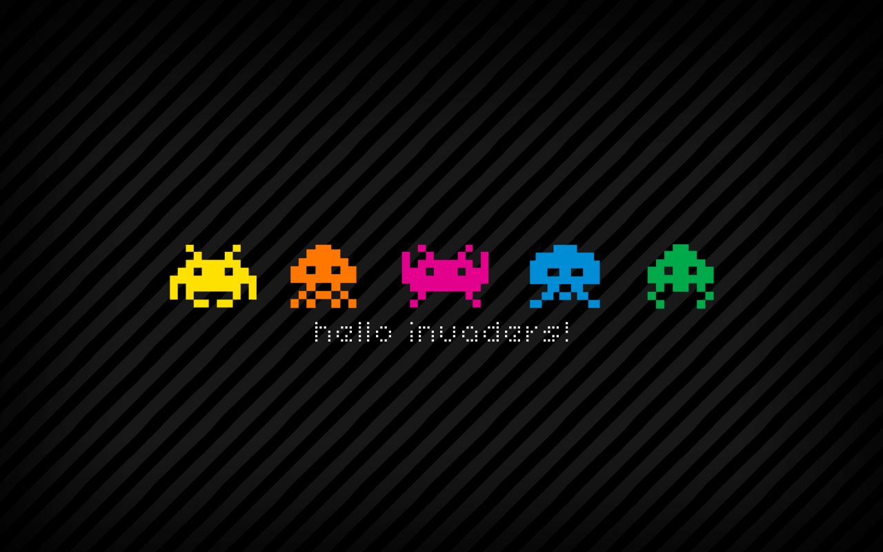 Invaders Retro Games Wallpaper Retro Gaming Space Invaders