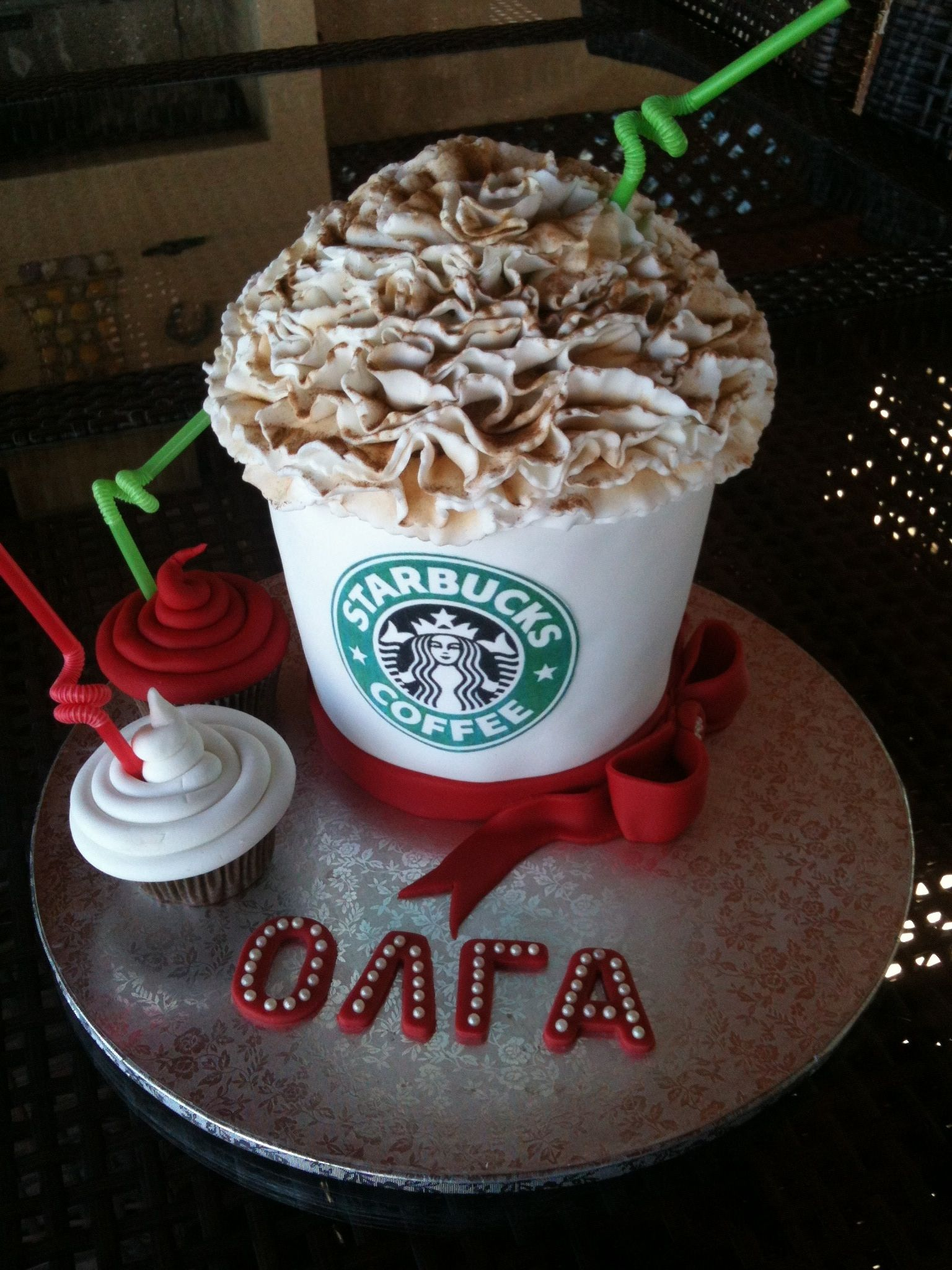 Starbucks !! Let's go for coffee!!!! — Birthday Cake