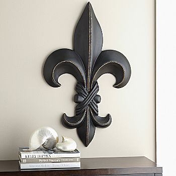 Fleur De Lis I Bought One Of These At Hobby Lobby For My Guest Room Wall It Looks Great 10 Decor Home Decor Home