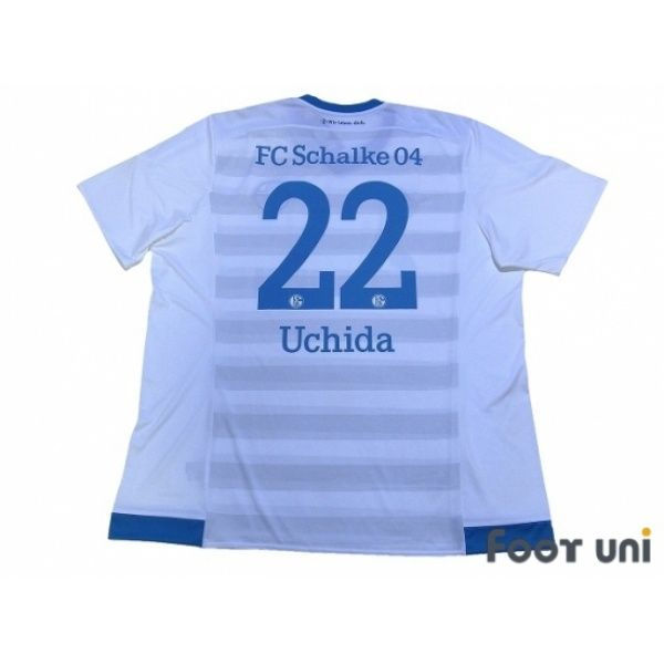 b0cf97774 Photo2  Schalke04 2015-2016 Away Shirt  22 Uchida w tags adidas ...