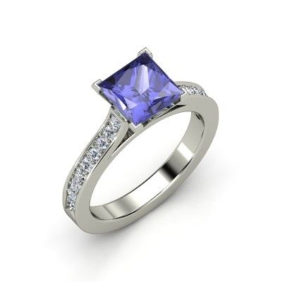 tanzanite ring - I would so die if I got this as my ring