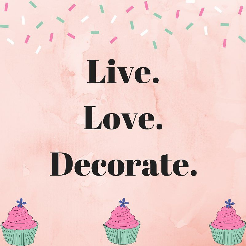 Words to live by! // baking quotes // cake decorating quote