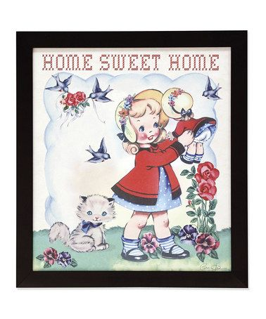 Dolly Girl Framed Wall Art Print by Rex International Ltd