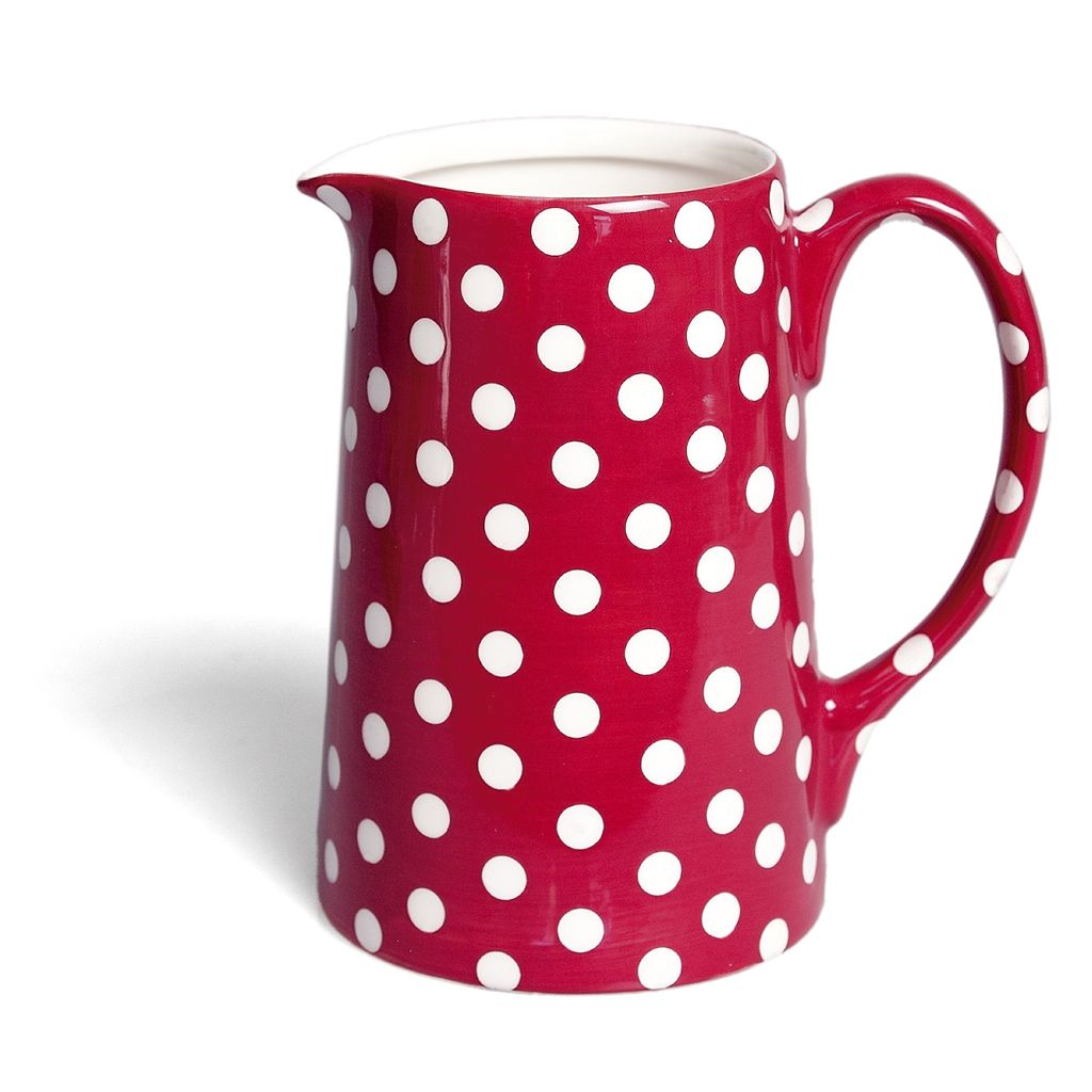 Retrospot Large Milk Jug. Red and white polka dots! Cute retirement ...