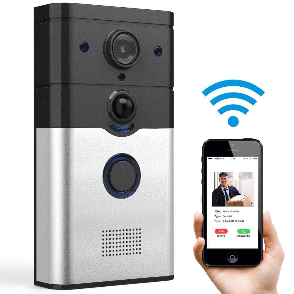Fnova Video Doorbell | Doorbell camera, Smart doorbell ...