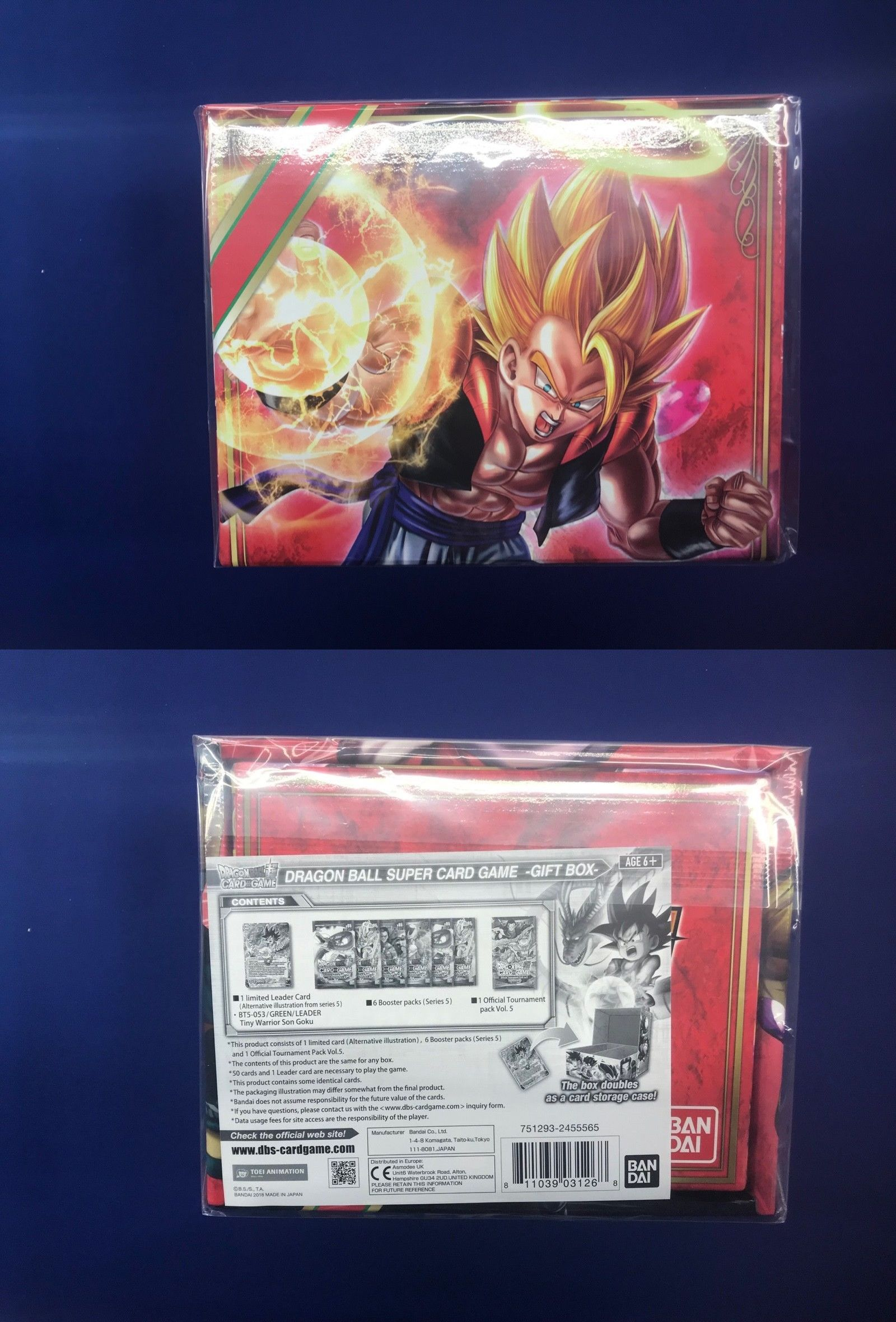 Dragon Ball Super Card Game Coffret /'Gift Box/' Noel 2018 Version Française !