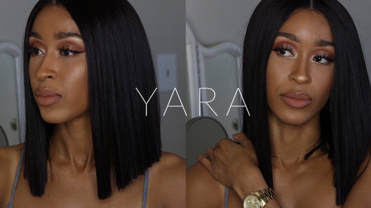 Sexy Blunt Bob Bobbi Boss Yara Wig Review Divatresscom Youtube
