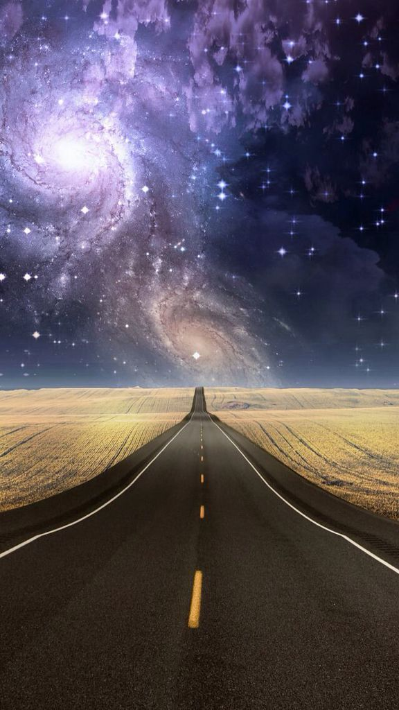 Just The Wide Open Road And Sight Of Stars To Make You Dream