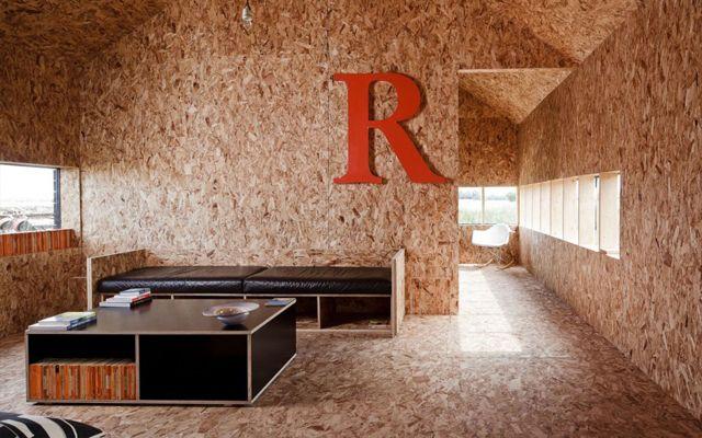 C mo decorar con tableros osb muebles tablero osb for Aplicaciones de decoracion de interiores