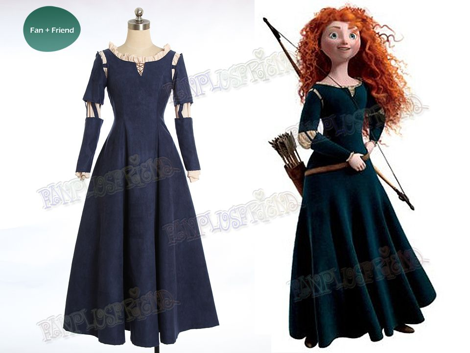 Brave (Disney film) Cosplay Princess Merida Costume Outfit | Possible  Halloween costume!