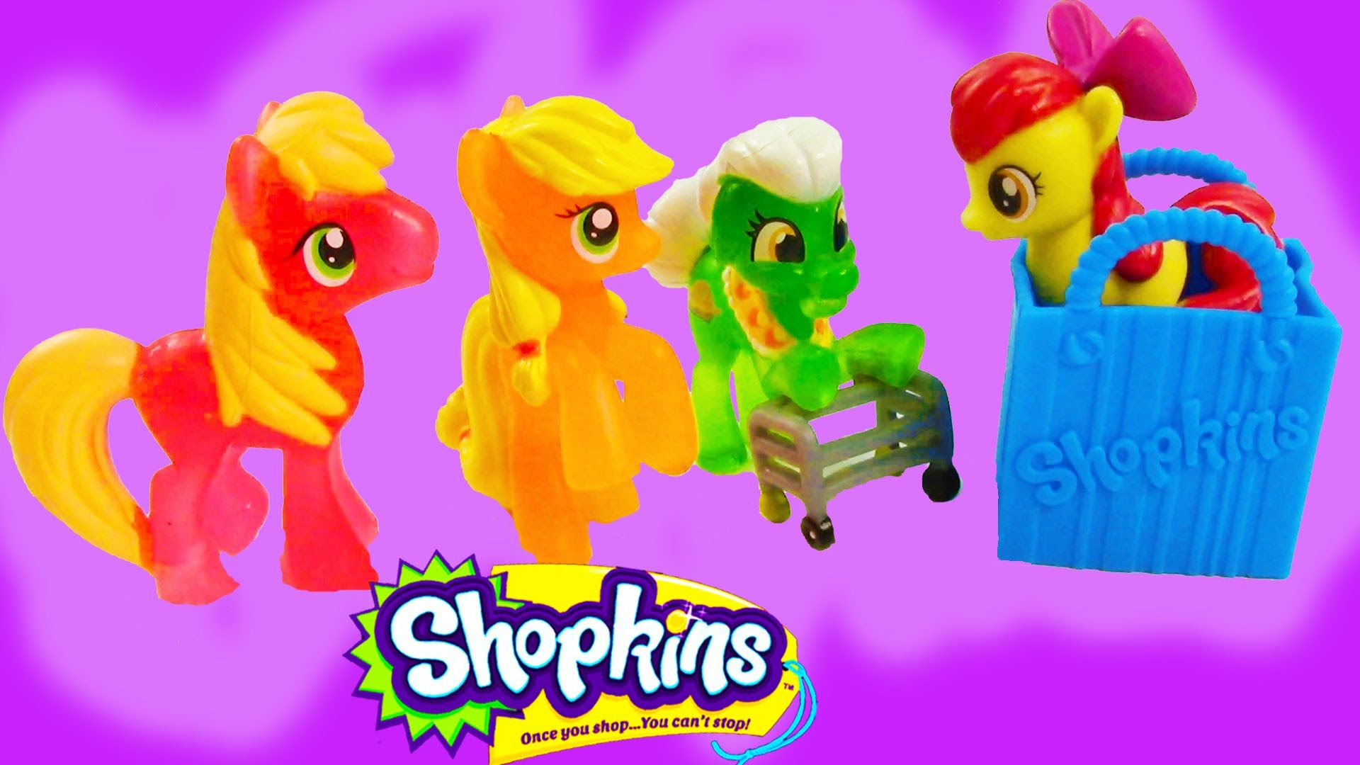 Mlp Shopkins 12 Pack Mystery Surprise Blind Bag My Little