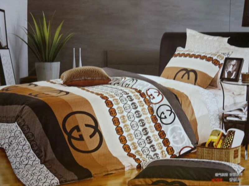 gucci bettw sche g nstig billig gut preiswert king size seide baumwolle bed set 6 teilig. Black Bedroom Furniture Sets. Home Design Ideas