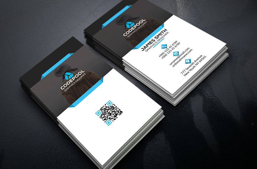Corporate business card . This Card download contains 300 dpi print ...