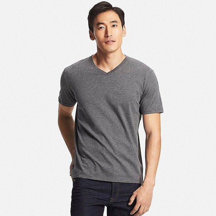 c15bcdcb0b7a Men s Supima Cotton V-Neck T-Shirt  9.90 At Uniqlo V-neck short