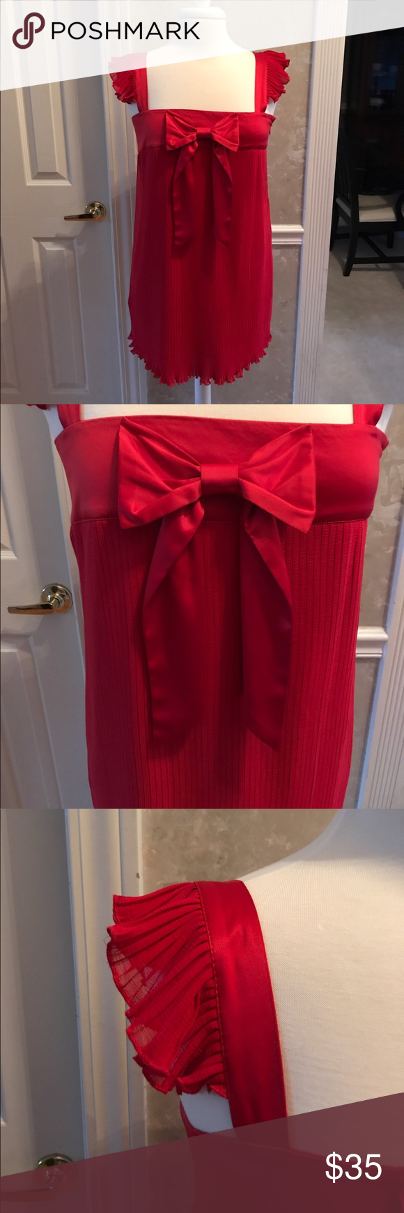 Red dress xoxo 100