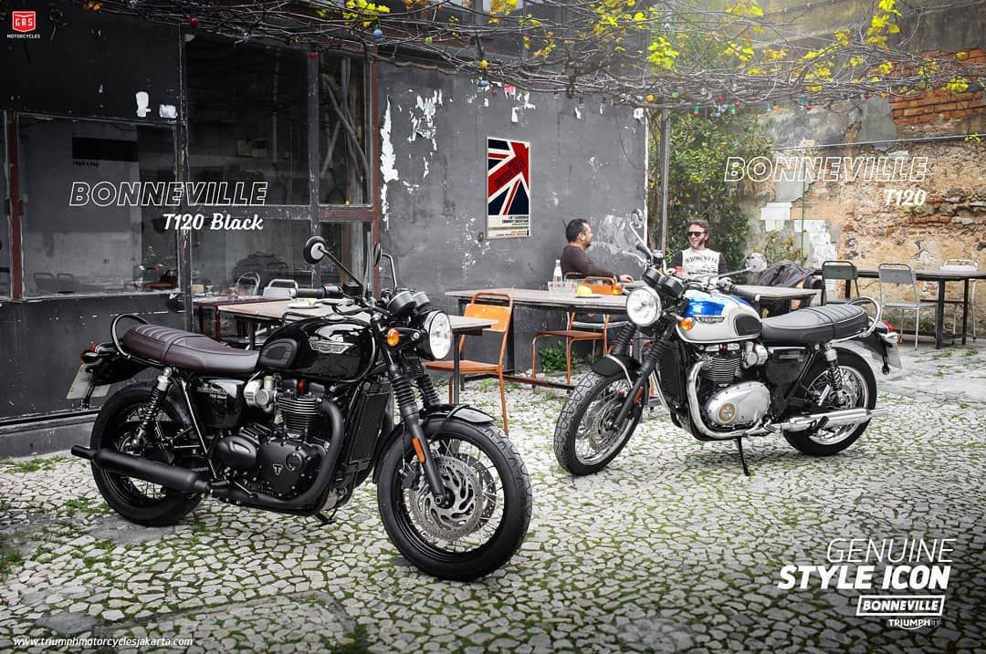 Staying Faithful To The Bikes Evocative Heritage The T120 Bikes Are