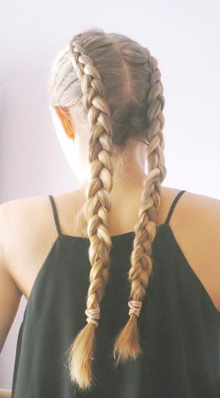 Warkocze Dobierane Hair W 2019 Warkocze Włosy I Fryzura