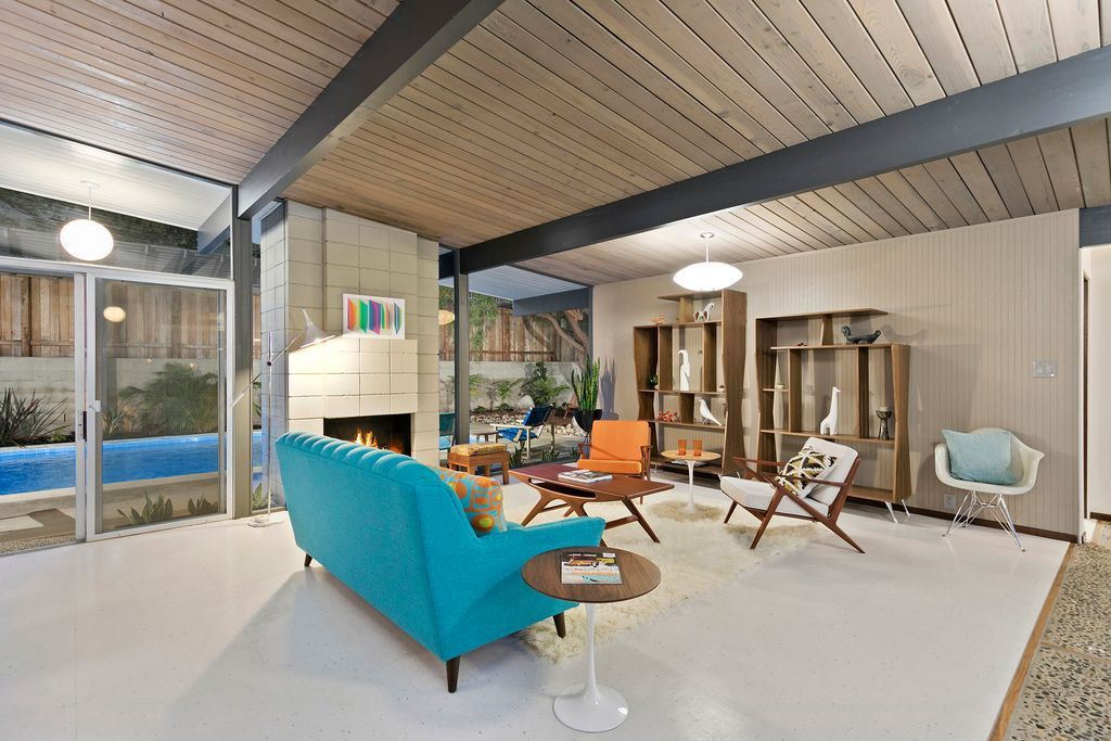 Eichler with rare floor plan goes on the market for first ...