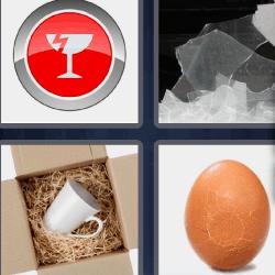 Huevo roto 4fotos 1palabra cristal roto fondo rojo y huevo 4 fotos 1 palabra huevo roto smbolo copa rota con fondo rojo cristales rotos fandeluxe Images